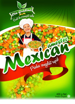 DIN GRADINA MEXICAN MIX 400GR